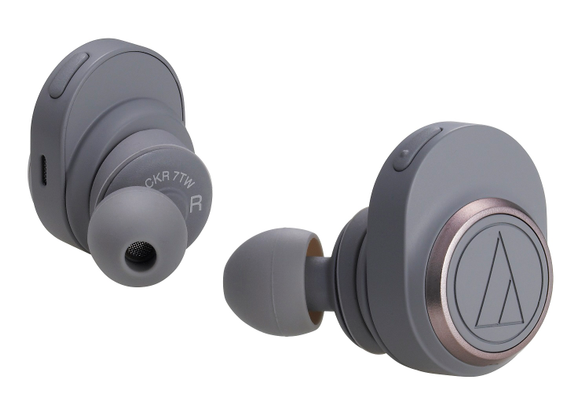 Audio-Technica Bluetooth in-ear headphones ATH-CKR7TWGY in gray