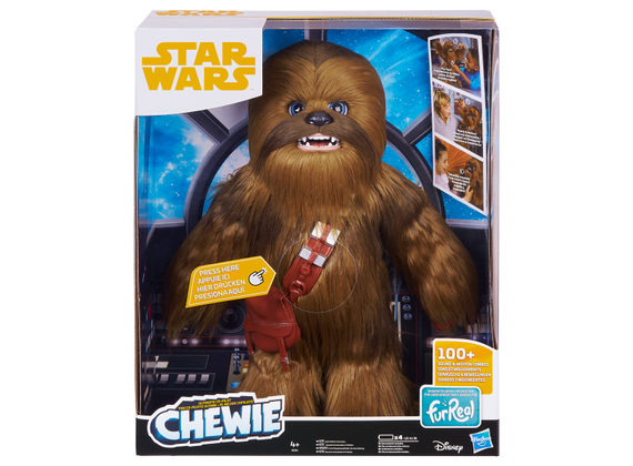 Hasbro Star Wars film Solo Chewbacca interactive Figure
