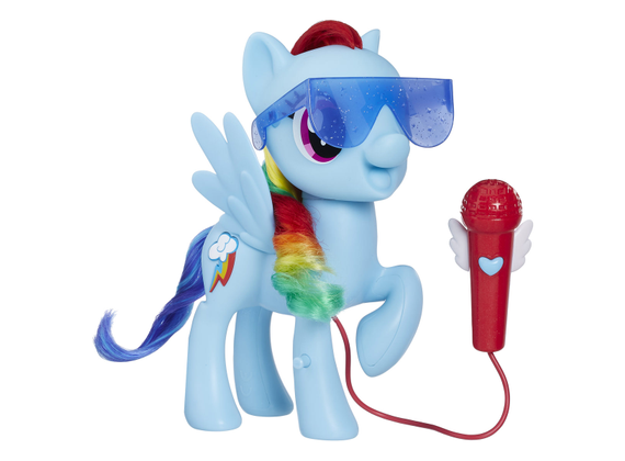 Hasbro singing rainbow dash doll