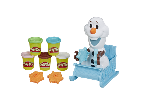 Hasbro - Play-Doh - Disney FROZEN - Sledge ride with Olaf