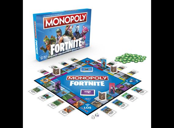 Hasbro Monopoly Fortnite Edition - German