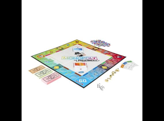 Hasbro Monopoly Millennials Party Game - German