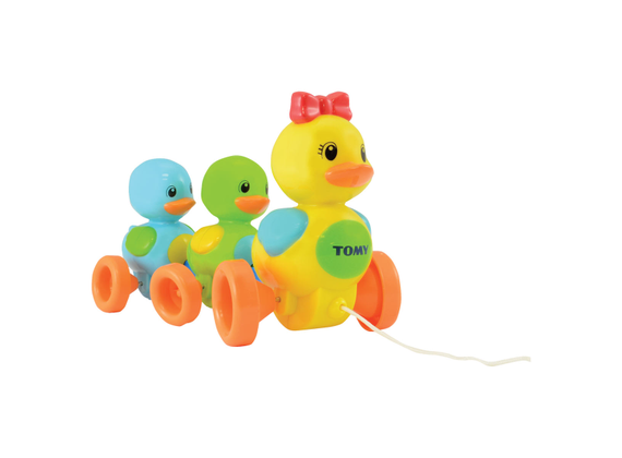 """Tomy - Toomies - Baby Toy \""""Duck Family\"""" with Sound Effect - High Quality Dog Toys"""