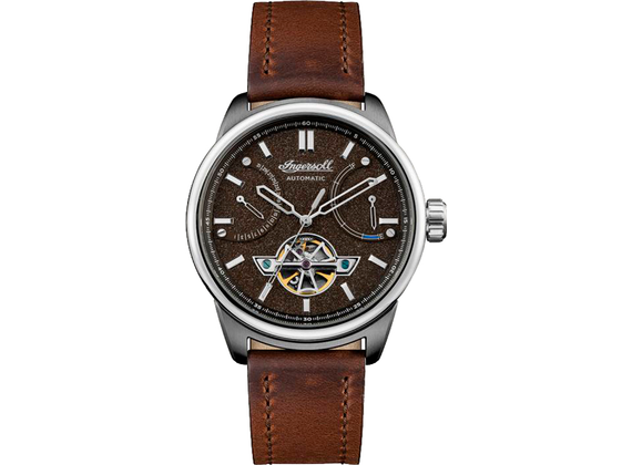 Ingersoll men\'s wristwatch the triumph 44mm noble, brown