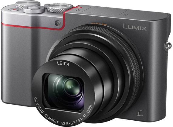 Panasonic Lumix DMC-TZ100, black / silver