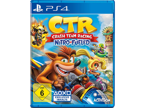 Playstation 4 - CTR Crash Team Racing Nitro-Fueled
