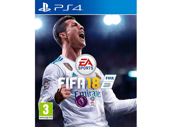 Playstation 4 - FIFA 18 [PEGI]