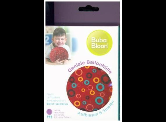 Abanico bubabloon bubles balloon shell BB-17703, red