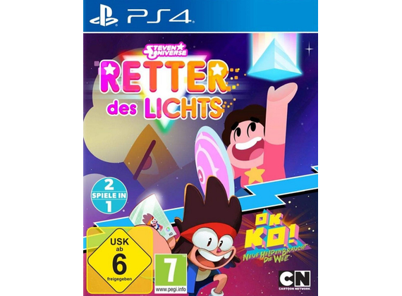 Playstation 4 - Steven Universe - Retter des Lichts