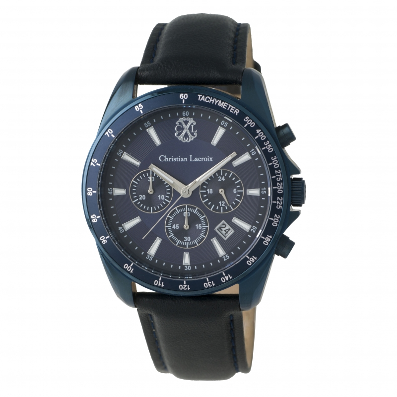 Christian Lacroix Wrist Watch Element in Navy