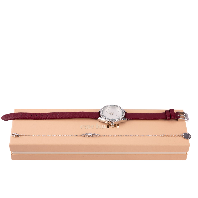 Cacharel Set (Wristwatch & Bracelet)