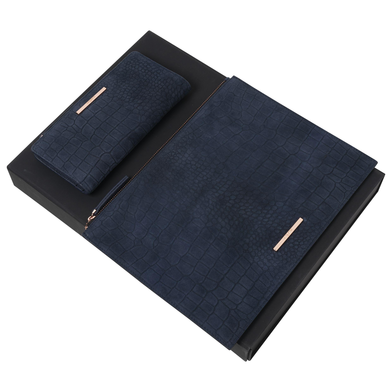Ungaro Set Giada Navy (Wallet & clutch)
