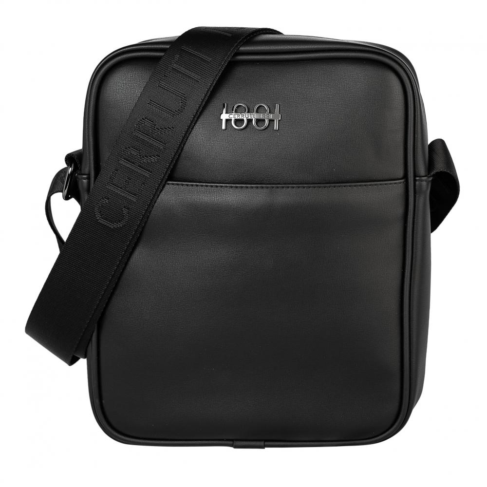 Cerruti lookbook reporter bag irving black