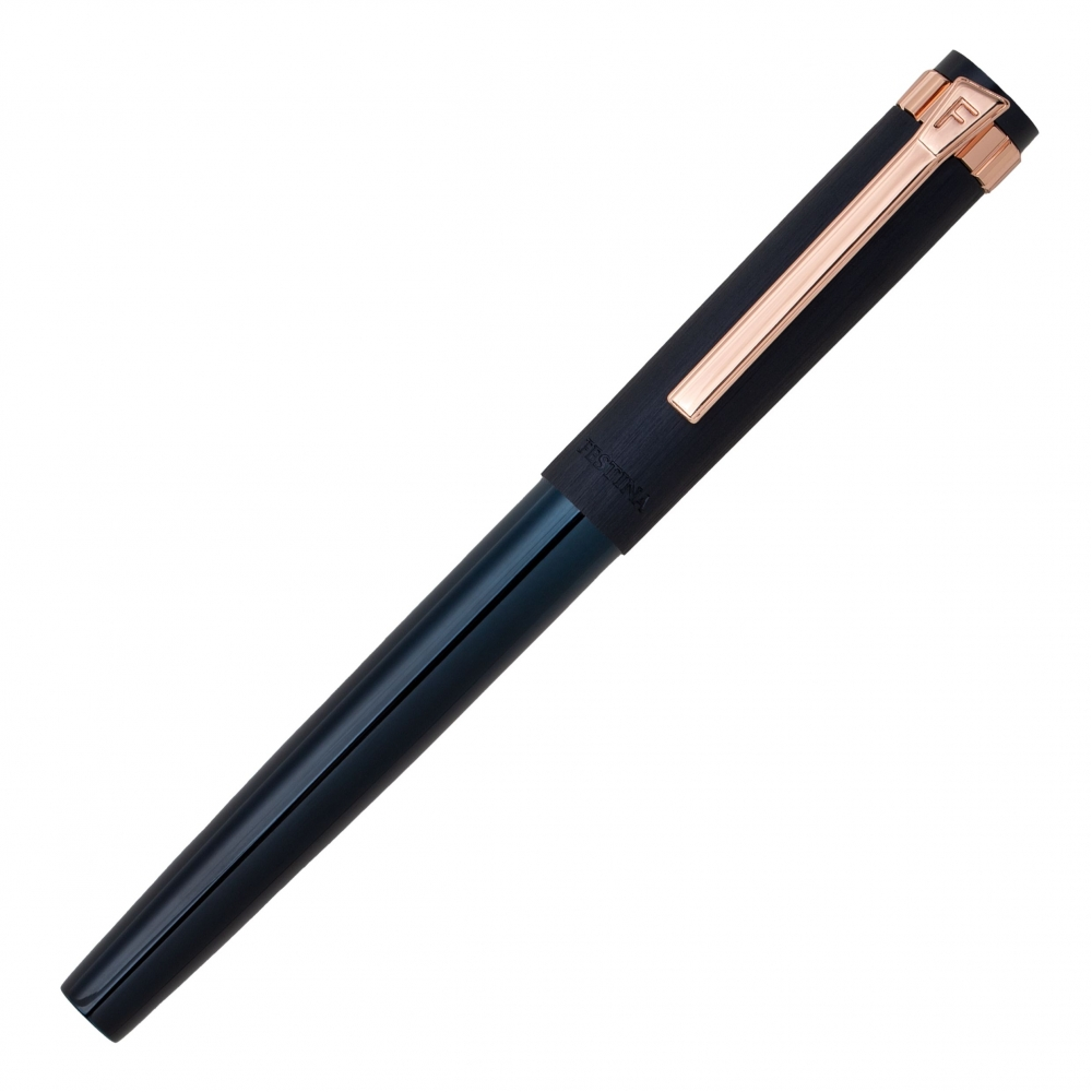 FESTINA fountain pen prestige rose gold navy