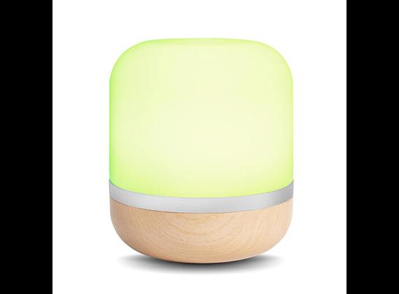 WiZ HERO lamps - multicolored - wood