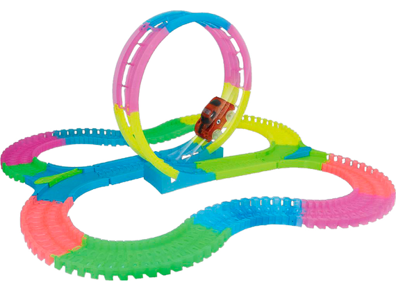 Amazing tracks - flexible and bright 131 parts