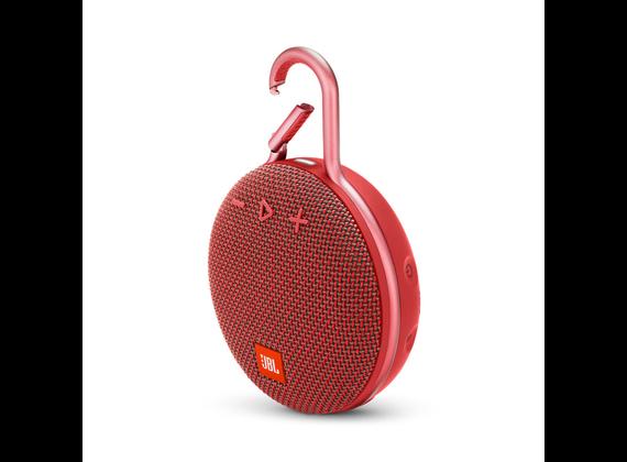 JBL Clip 3, Bluetooth speaker, red
