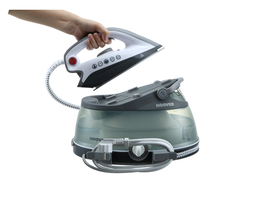 Hoover 2500 W steam iron 2 liters with ceramic soleplategray PRB2500B 011