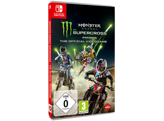 Nintendo Switch - Monster Energy Supercross - The Official Videogame