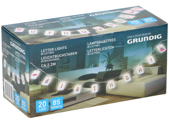 Grundig light signs 20LED