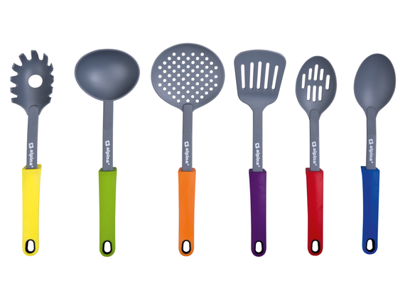 Alpina Kitchen Tools & Holder 7-TGL.