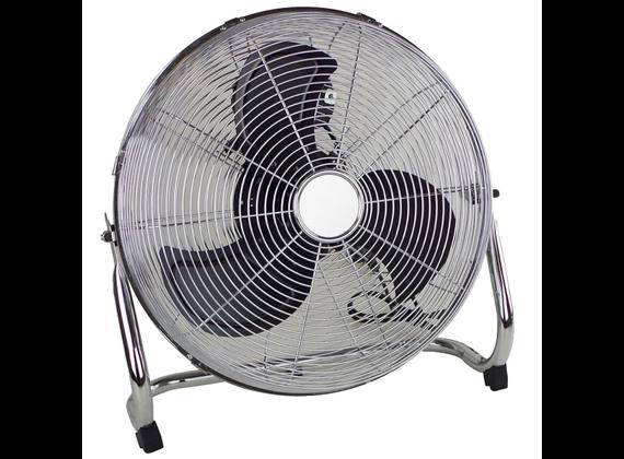 EDCO floor fan 40cm Chrome