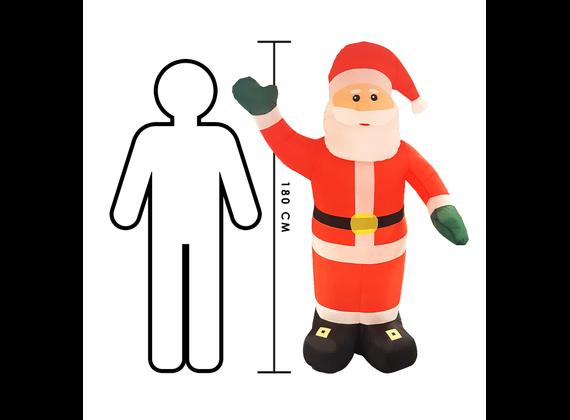 Christmas Gifts Santa inflatable 180cm 8711252785