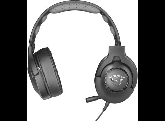 Trust GXT 420 Rath Over-Ear Headset, black