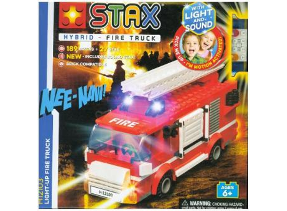Light-Radiant Stax fire truck