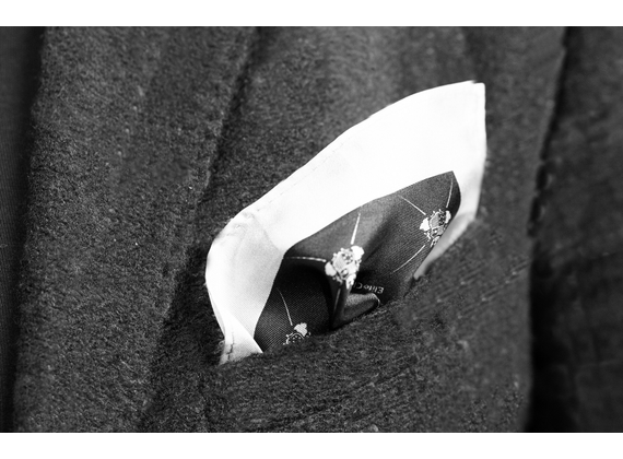 EliteClub Men`s silk pocket square