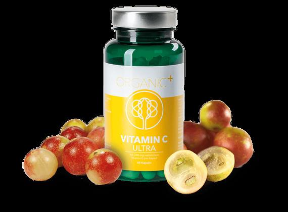 Organic+ Vitamin C Ultra 60 Kapseln ORGANIC008