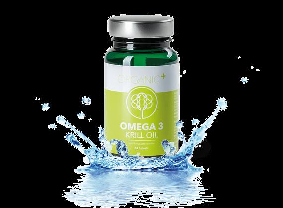 Organic+ Omega 3 Krill Oil 60 Kapseln ORGANIC007