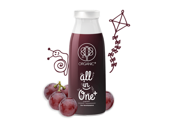 Organic+ All in One Drink 4x 250 ml ORGANIC1002